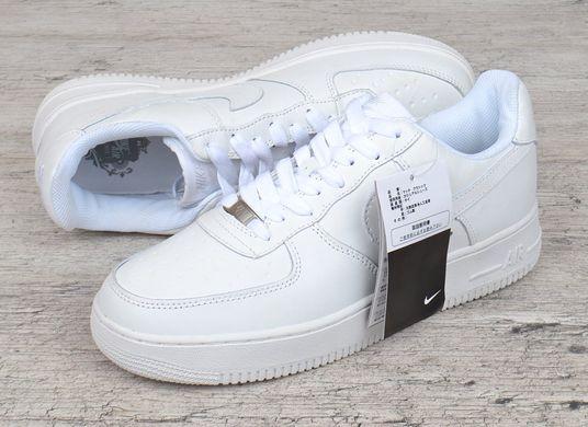 КупитиКросівки чоловічі шкіряні білі Nike Air force 1 low прошиті В єтнам  фото b5fa88fe77b6b