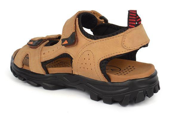 24f2ec1884f9 ... Купить Сандалии мужские кожаные песочные на липучках Reastep Турция  фото, в интернет-магазине обуви ...