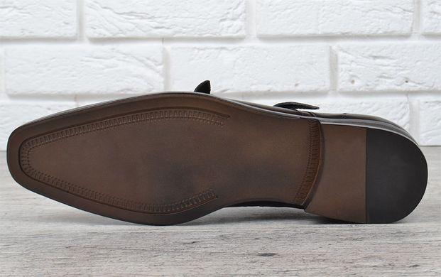 ... Купить Мужские кожаные туфли классические черные Zapaterias VR прошитые  фото, в интернет-магазине обуви 117cb3cb250