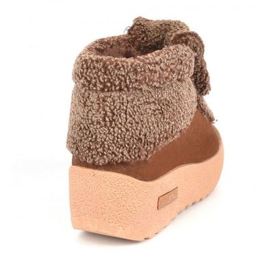 � К�пи�� Бо�инки зимние на пла��о�ме fashion ка�амел�