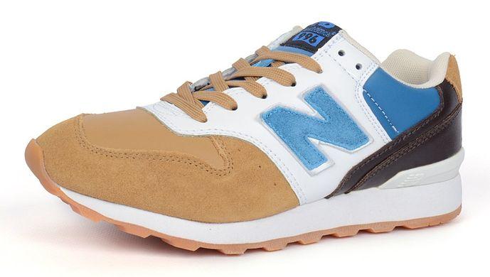 ᐉ Купити Кросівки жіночі New Balance 996 замша шкіра коричневі – в ... 9aea7bed9c235