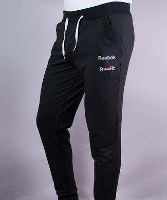 ᐉ Купити Спортивні штани чоловічі на манжетах Reebok чорні – в ... 9978ac8b3c689