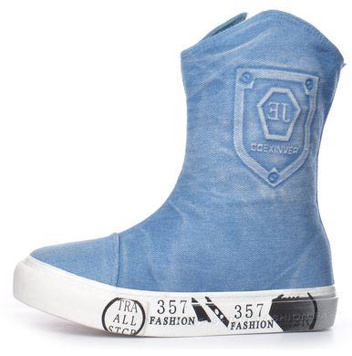 d85bad6f8 Купить Сапоги женские джинсовые на платформе светлые Jeans fashion фото, в  интернет-магазине обуви ...