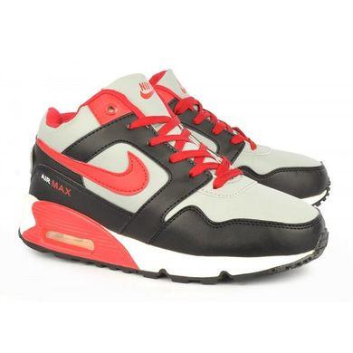 d70e49db938259 ᐉ Купити Кросівки жіночі зимові на хутрі Nike Air Max Black & Red ...