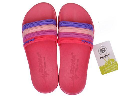 5046ae7d8 Купить Шлепанцы женские малиновые Flip flops Bubble TM Bona фото, в интернет -магазине обуви ...